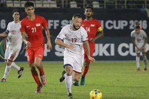 Đội tuyển Philippines đón sự trở lại của 'máy tạt bóng' trước cuộc đấu với đội tuyển Việt Nam