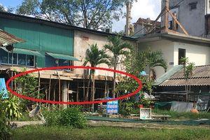 Tuyên Hóa (Quảng Bình): Công ty Hiếu Thảo xây dựng trái phép trên đất công viên