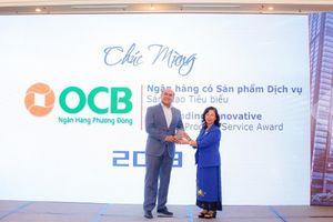 OCB nhận giải Ngân hàng Tiêu biểu Việt Nam 2018