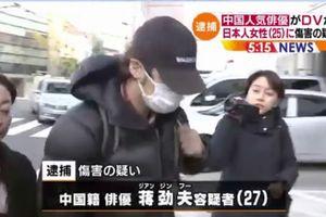 Sao nam Trung Quốc bị bắt vì đánh bạn gái người Nhật