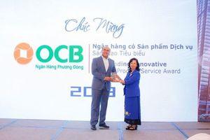 OCB nhận giải Ngân hàng Việt Nam tiêu biểu 2018