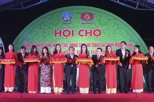 Nghệ An: Nhiều sản phẩm đặc sắc xuất hiện tại Hội chợ nông nghiệp công nghệ cao