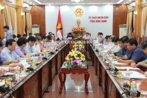 Phó Chủ tịch Quốc hội Phùng Quốc Hiển làm việc với ủy ban nhân dân tỉnh Bình Định