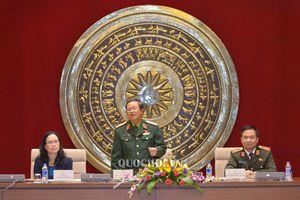Đại tướng Đỗ Bá Tỵ - Phó Chủ tịch Quốc hội, gặp mặt Đoàn Cựu chiến binh Sư đoàn 355