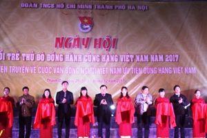 Nhiều hoạt động hấp dẫn tại Ngày hội tuổi trẻ Thủ đô đồng hành cùng hàng Việt Nam 2018