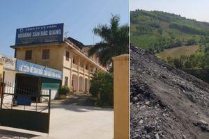 Sai phạm chất cao như núi, Công ty CP Khoáng sản Bắc Giang chỉ bị... nhắc nhở