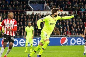 Lượt trận 5 bảng B Champion league, Barca nắm chắc ngôi đầu