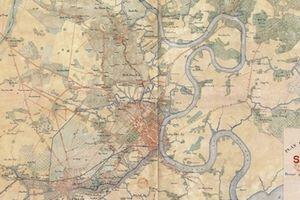 Khám phá Sài Gòn – TP Hồ Chí Minh qua bản đồ cổ và ảnh panaroma