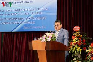 Quan hệ Việt Nam-Palestine là tài sản quý báu của hai nước
