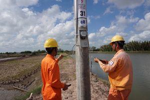 Điện lực Trà Vinh đóng điện vận hành công trình cấp điện Cồn Phụng