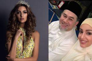 Nhan sắc hoa hậu Moscow (Nga) vừa kết hôn với quốc vương Malaysia