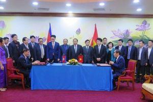 Kết thúc Cuộc họp lần thứ 9 Cấp Bộ trưởng ngành kế hoạch Việt Nam - Campuchia