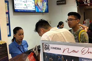 Vé bán kết lượt đi Philippines vs Việt Nam bán ở rạp chiếu phim