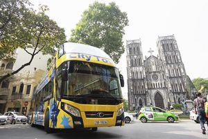 Khai trương tuyến xe buýt 2 tầng thứ hai tại Hà Nội