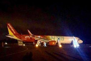 Bộ GTVT báo cáo Thủ tướng sự cố hạ cánh máy bay Vietjet
