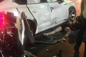 Tông trực diện vào ô tô Audi, 4 người thương vong ở Hà Nội