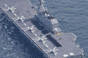 Nhật Bản biến tàu chiến thành tàu sân bay, Trung Quốc nổi giận