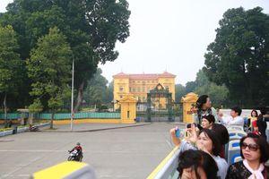 Hà Nội có thêm tuyến xe buýt hai tầng phục vụ du khách