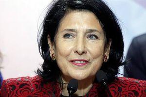 Georgia có nữ tổng thống đầu tiên