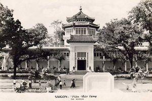 Ảnh cực đẹp Bảo tàng Lịch sử VN gần 100 năm trước