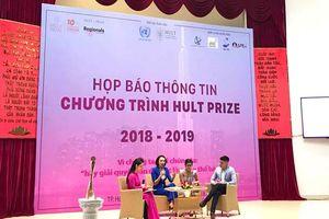Khởi động giải thưởng hướng tới khởi nghiệp Hult Prize