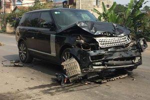 Xe sang Range Rover tông tử vong nữ hiệu trưởng đang đứng bên đường