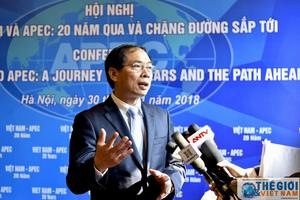 Toàn cảnh Hội nghị 'APEC và Việt Nam: Chặng đường 20 năm qua'