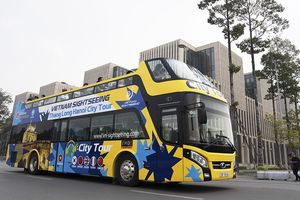Hà Nội đưa thêm tuyến xe buýt 2 tầng phục vụ khách du lịch