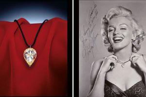 Viên kim cương huyền thoại Marilyn Monroe từng đeo được bán gần 30 tỉ đồng