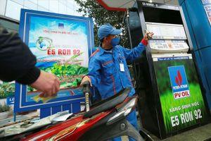 PV OIL kinh doanh hiệu quả xăng E5