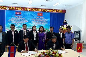 TAND tỉnh Tây Ninh tiếp đoàn Tòa án sơ thẩm tỉnh Tboung Khmum, Campuchia