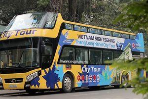 Tuyến buýt mui trần thứ 2 ở Hà Nội chính thức lăn bánh