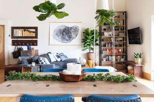 Ngôi nhà mới tận dụng nội thất cũ khéo léo