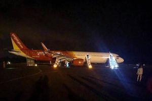 Máy bay gặp sự cố tại sân bay Buôn Ma Thuột, 207 hành khách Vietjet Air thoát hiểm