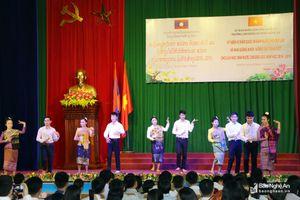 Trường CĐSP Nghệ An kỷ niệm 43 năm Quốc khánh nước CHDCND Lào