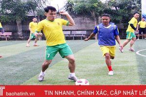 Công an huyện Thạch Hà tổ chức giải bóng đá gây quỹ ủng hộ người nghèo