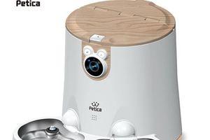 Ra mắt bộ cung cấp thức ăn và nước tích hợp camera cho thú cưng