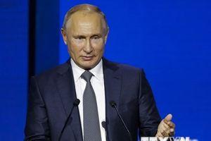 Tổng thống Nga lên án các biện pháp trừng phạt và chủ nghĩa bảo hộ