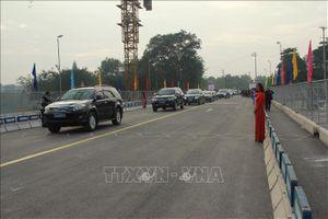 Lạng Sơn thông xe kỹ thuật công trình cầu Kỳ Cùng