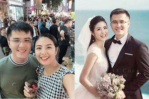 Hoa hậu Ngọc Hân nói gì về 'bạn trai' làm ở Bộ Ngoại giao chụp chung ảnh cưới?