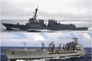 Tàu chiến Mỹ xuyên eo biển Đài Loan khiến Bắc Kinh tức giận