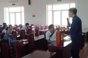 Huyện Ba Vì triển khai tập huấn công tác phòng cháy, chữa cháy