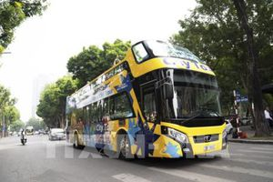 Ra mắt xe bus 2 tầng Vietnam Sightseeing và tuyến xe Thăng Long - Hà Nội City Tour