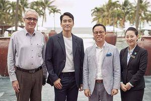 Gần một năm chia tay Lưu Diệc Phi, Song Seung Heon bận 'tối mặt' cũng có ngày xuất hiện ở Việt Nam