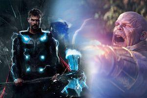 'Avengers: Infinity War': Chiếc rìu Stormbreaker của Thor lẽ ra đã không thể bổ vào người Thanos