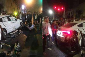 Vụ 2 xe máy tông ô tô Audi khiến 3 người thương vong: Nạn nhân thiệt mạng là cô gái mới 18 tuổi