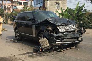 Xế sang Range Rover đâm nữ hiệu trưởng tử vong rồi lao vào xe container