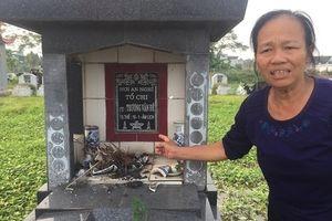 Vụ gần 100 ngôi mộ bị đập bát hương ở Hưng Yên: Trắng đêm canh giữ mồ mả