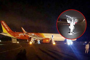 Hàng trăm hành khách Vietjet nhảy qua cửa thoát hiểm khi máy bay gặp sự cố nghiêm trọng