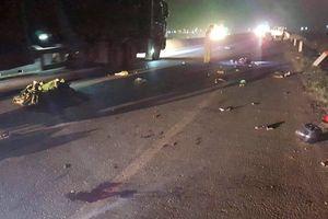 Thanh Hóa: Công an truy tìm xe ô tô gây tai nạn chết người rồi bỏ trốn